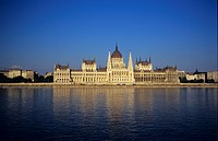 Budapest, architecture, government building, Hungary, Europe, parliament building, river, Danube