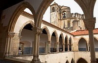 Convent of Christ, Tomar. District of Santarém, Portugal