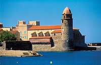 Collioure. Languedoc-Roussillon, France