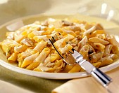 penne with tuna fish and thyme