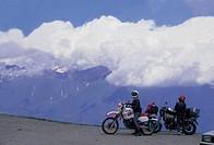 motorbikers on travel