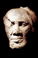 berlin, egiptian museum, egiptian art, portrait of a man from tell el amarna