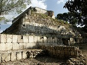 Uxmal, Pre-Columbian ruined city of the Maya civilization (late Classic period 600 - 900 A.D.). Yucatan, Mexico