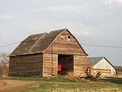 old barn, central United States