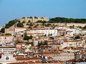 San Jorge castle. Lisbon. Portugal. (Sept. 2003)
