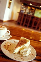 Coffee and cake in the wine region of Robertson, South Africa