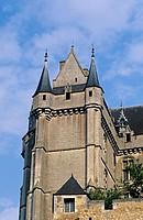 Castle, Châteaudun. Eure-et-Loire, France