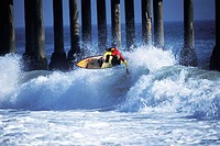 Surfing, California USA
