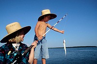 Fishing, Everglades City. Florida, USA