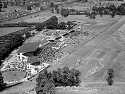Northolt Park Racecourse opened in 1929 and closed in 1940. A housing estate was later built on the site.