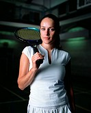 Female tennis player