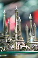Eiffel Tower Miniatures,  Montmartre, Paris, France