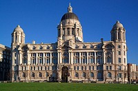 Port of Liverpool Building, Liverpool, Merseyside, England