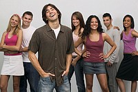 Young people modeling clothing (thumbnail)