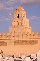 Kairouan, Sidi Oqba Moschee/ Fassade