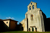 Santa Eufemia Romanesque church. Palencia. Spain