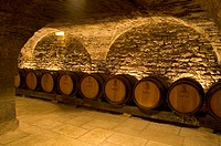 The most important cellars of Burgundy, the Patriarche cellars, dating from the 13th and 14th century