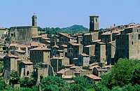 Sorano. Tuscany, Italy
