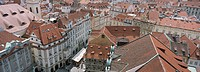 View from old town hall, Prague, Czech Republic