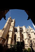 St. Just and St. Pasteur cathedral, Narbonne. Aude, Languedoc-Roussillon. France