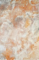 Orange and White Fresco Texture