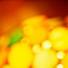 Illuminated yellow abstract