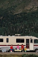 Camping with a Recreational Vehicle
