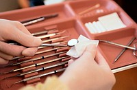 Cleaning Dental Instruments