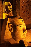 Close-Up of Ramses II Statue