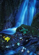 Croatia, Plitwitzer National Park, waterfall (blurred motion)
