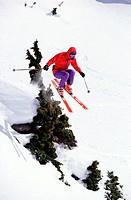 Jumping while Skiing