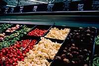 Produce in market