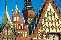 Town Hall, Wroclaw. Poland