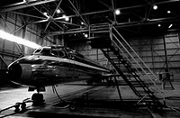Jet Repair in Hangar