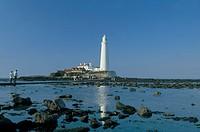 lighthouse, saint mary island, great britain