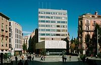 Picasso. Col.legi d´Arquitectes de Barcelona. Plaça Nova. Barcelona. Catalonia. Spain.
