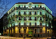 Hotel Havana. Gran Via. Barcelona. Catalonia. Spain