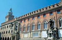 europe, italy, emilia romagna, bologna, town hall