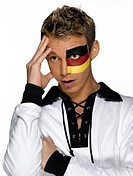 Male german soccer fan