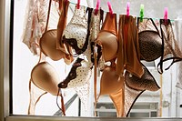Clothesline, lingerie