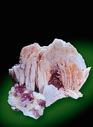 Baryt with fluorite, barite, baritina, fluorite, 8 cm, Berbes/Spain