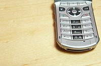 Keypad on cell phone