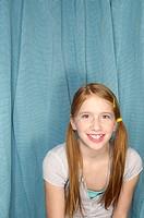 Girl smiling