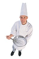Chef, portrait.