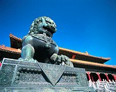 Sculpture of Lion, Hall of Supreme Harmony, Forbidden City, Beijing