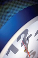 Close-up of a clock