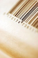 Close-up of bar codes
