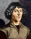 Nicolaus Copernicus (1473-1543), Polish astronomer who began the revolution that overthrew more than 1000 years of astronomical thought. Since the tim...