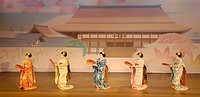 Gion Odori (geisha dances) at Gion Kaikan. Kyoto, Japan