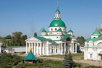 Monastery of Our Saviour founded in the late 14th century, Rostov the Great. Golden Ring, Russia